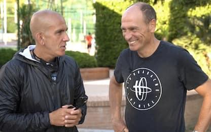 Padel: agonismo e risate by Di Canio&Marchegiani