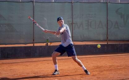 Leo Borg, il figlio di Bjorn all'Academy di Nadal