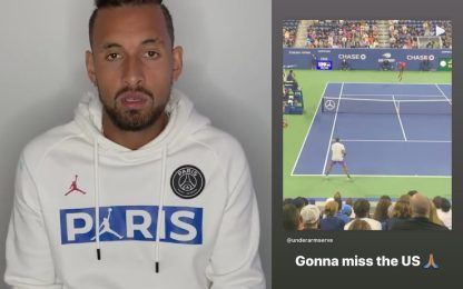 "US Open, forfait Kyrgios: ""Rispetto vittime Covid"""