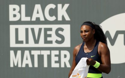 Wta Lexington, Serena Williams esce ai quarti