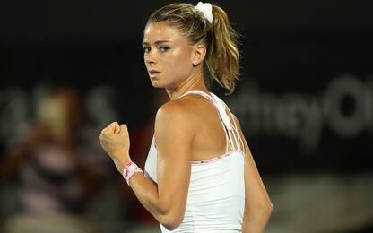 Us Open: Giorgi salva l'Italia, bene Djokovic