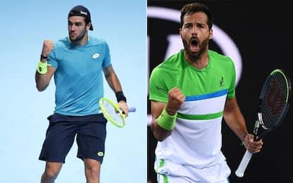 US Open: Berrettini e Caruso volano al 2° turno