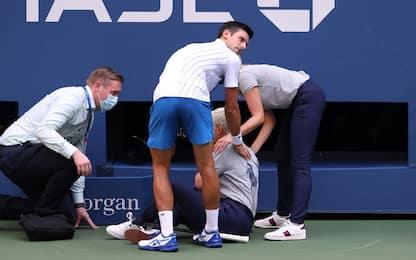 Clamoroso agli US Open: Djokovic squalificato!