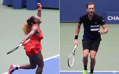 Medvedev-Thiem e Serena-Azarenka: che semifinali!