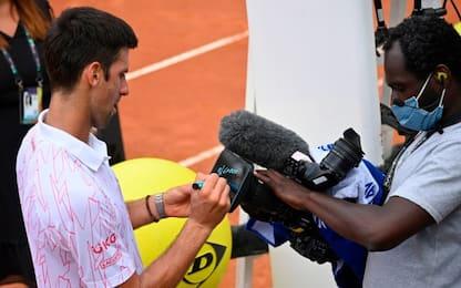 Roma, Djokovic in semifinale: eliminato Koepfer