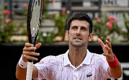 Roma, Djokovic in finale: sfiderà Schwartzman
