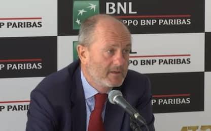 """Binaghi: """"Internazionali potrebbero cambiare sede"""""""