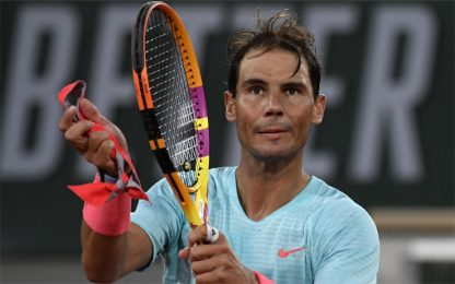 Roland Garros, Nadal comincia con una vittoria
