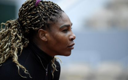 Roland Garros, Serena Williams si ritira
