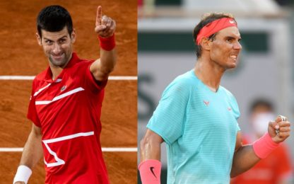 Djokovic batte Tsitsipas e va in finale con Nadal