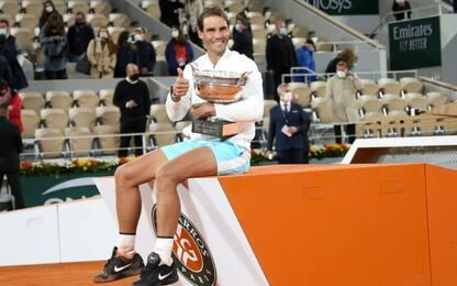 Storico Nadal, vince a Parigi e raggiunge Federer