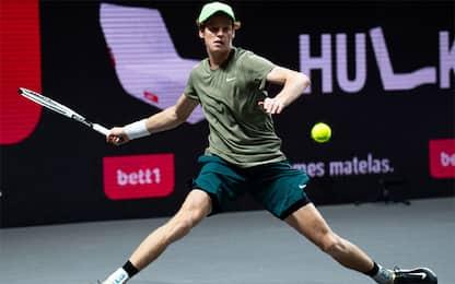 Magico Sinner, è in semifinale all'ATP di Colonia
