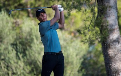 Nadal, fenomeno sul green: 6° in torneo golf. FOTO