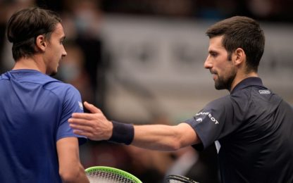 Vienna, impresa Sonego: Djokovic ko 6-2, 6-1