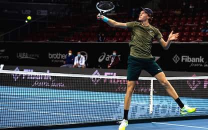 Sinner batte Mannarino: prima finale ATP a Sofia