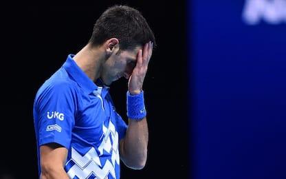 ATP Finals: Medvedev in semifinale, Djokovic ko