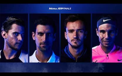 ATP Finals, le semifinali su Sky Sport: guida tv