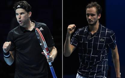 Nole e Rafa out, la finale sarà Thiem-Medvedev
