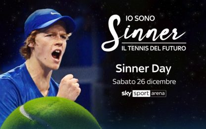 "Su Sky Sport Arena è ""Sinner Day"""
