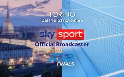 ATP Finals Torino, oggi la presentazione LIVE