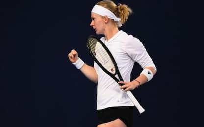 Più forte di tutto, Fran Jones è agli Aus Open