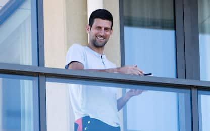 """Djokovic: """"Non siamo ingrati, volevo solo aiutare"""""""
