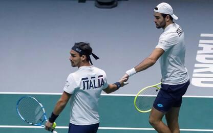 ATP Cup, l'Italia si affida a Berrettini e Fognini