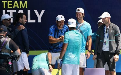 Atp Cup, Italia in semifinale: battuta la Francia