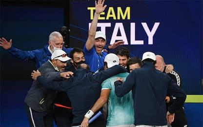 ATP Cup, l'Italia vola in finale: Spagna ko 2-0