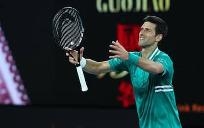 Djokovic perde un set ma vola al 3° turno