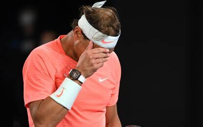 Crollo Nadal, in semifinale Tsitsipas-Medvedev