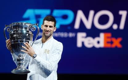 Djokovic, 311 settimane da n° 1: Top 10 all-time