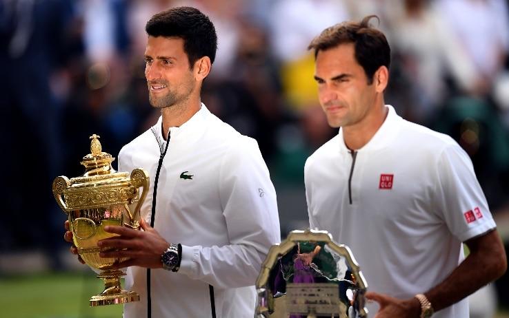 Il sogno Wimbledon per Federe, Djokovic insegue i record