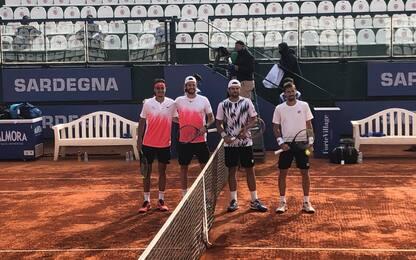 Cagliari, a Sonego/Vavassori la finale del doppio