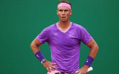 Rublev elimina Nadal, Tsitsipas-Evans in semi
