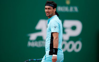 Fognini out a Montecarlo: Ruud vince 6-4, 6-3