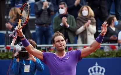 Nadal vola in finale contro Tsitsipas: Carreno ko