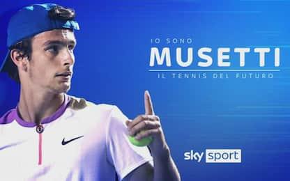 "Musetti si racconta a Sky: ""Sogno Wimbledon"""