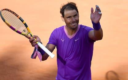 Nadal non sbaglia con Opelka: 12^ finale a Roma