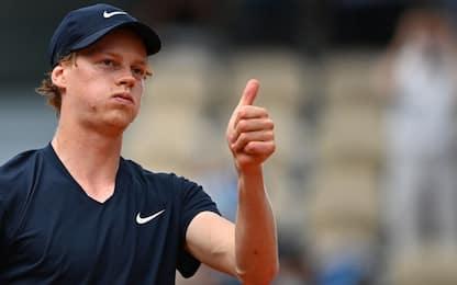 Sinner agli ottavi: Ymer ko, sarà sfida a Nadal