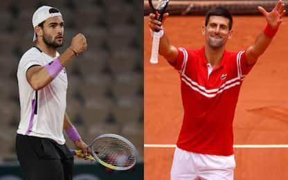 Berrettini sfida Djokovic: in palio la semifinale