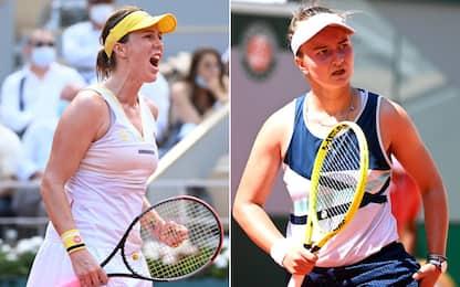 Pavlyuchenkova-Krejcikova, la finale più inattesa