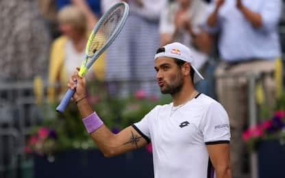 Berrettini batte Murray: è ai quarti al Queen's