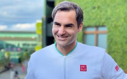 """Federer: """"Sonego giocatore da erba, sarà dura"""""""