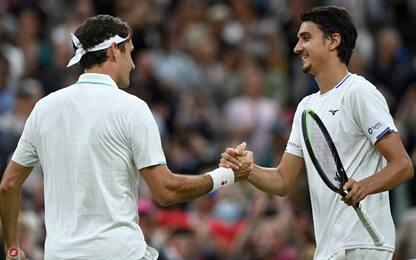 Troppo Federer per Sonego: il Re vola ai quarti