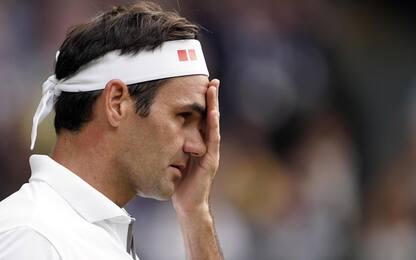 "Federer rinuncia a Tokyo: ""Problema al ginocchio"""