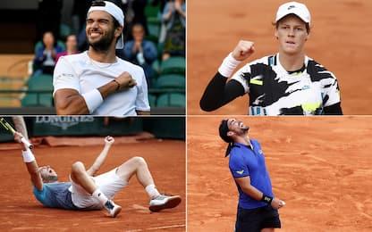 Berrettini e le grandi imprese del tennis italiano