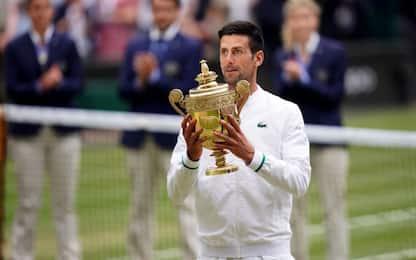 Wimbledon è ancora di Djokovic: 20° Slam