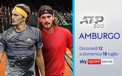 L'ATP 500 di Amburgo su Sky. LIVE oggi dalle 12.30