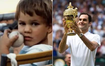 Federer, i 40 anni del 'Re': alle origini del mito
